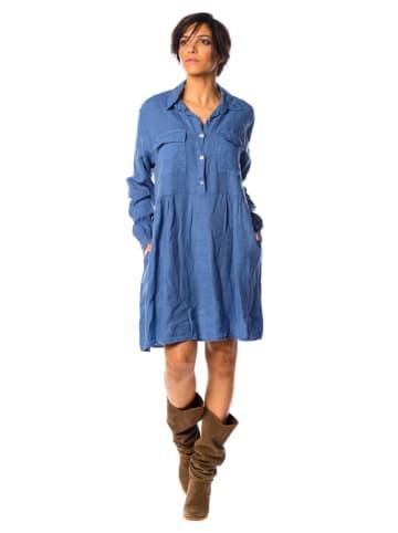 """La Fabrique du Jean Lniana sukienka """"Jessy"""" w kolorze niebieskim"""