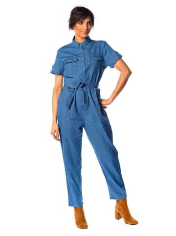 """La Fabrique du Jean Jumpsuit """"Kendall"""" blauw"""