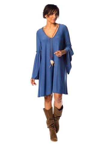 """La Fabrique du Jean Sukienka """"Loana"""" w kolorze niebieskim"""