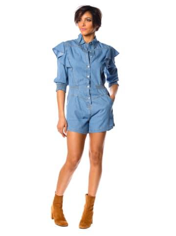 """La Fabrique du Jean Spijkerjumpsuit """"Monica"""" lichtblauw"""