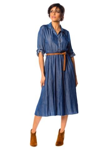 "La Fabrique du Jean Jeanskleid ""Sofia"" in Blau"