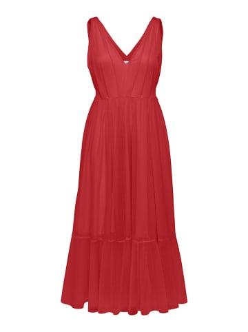 """SELECTED FEMME Sukienka """"Slfsuzy"""" w kolorze czerwonym"""