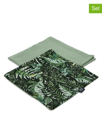 """La Millou Pieluszka """"100% Bamboo"""" (2 szt.) - Botanical & Khaki"""