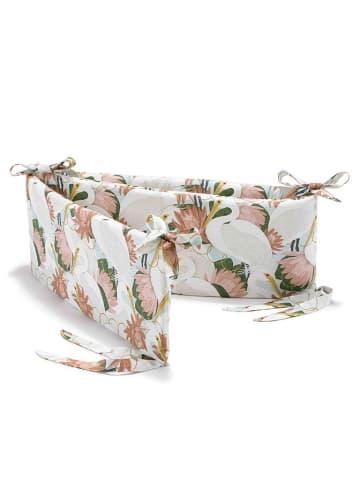 La Millou Ochraniacz do łóżeczka - Heron In Pink Lotus