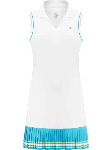 Poivre Blanc Sukienka sportowa w kolorze białym
