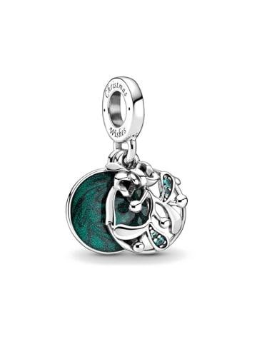 Pandora Srebrny charms z kryształami