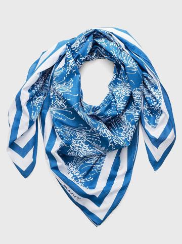 Gant Chusta w kolorze niebiesko-białym - 140 x 140 cm
