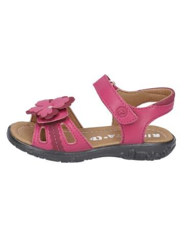 "Ricosta Leder-Sandalen ""Mary"" in Pink"
