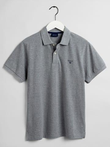 Gant Koszulka polo w kolorze szarym