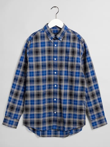 Gant Koszula - Regular fit - w kolorze niebiesko-czarnym
