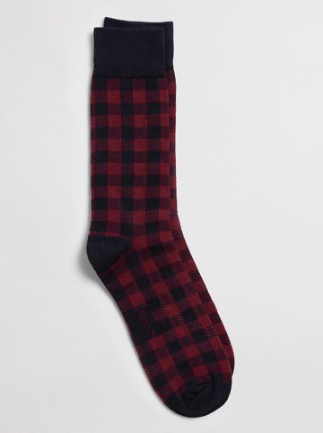 Gant Sokken donkerblauw/bordeaux