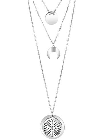 LA CHIQUITA Halskette mit Schmuckelementen - (L)70 cm