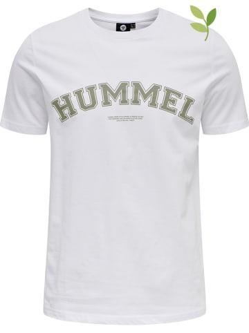 "Hummel Koszulka ""Varsity"" w kolorze białym"