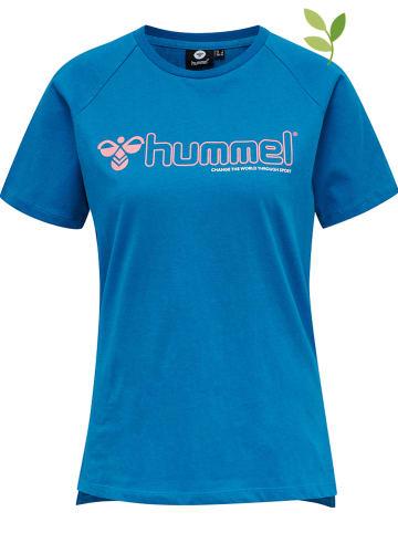 """Hummel Koszulka """"Zenia"""" w kolorze niebieskim"""