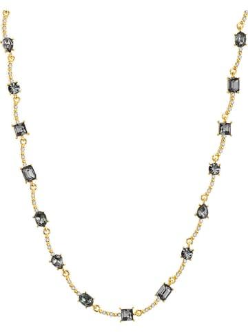 ICONIC COLLECTION Vergold. Halskette mit Schmuckelementen - (L)41 cm