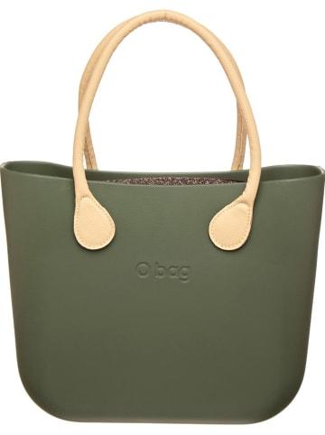 """O Bag Handtas """"O Bag"""" olijfgroen/bruin - (B)39 x (H)30 x (D)10 cm"""