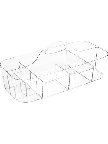 "Idesign Organizer  ""Clarity"" transparant - (B)37 x (H)14,5 x (D)18 cm"