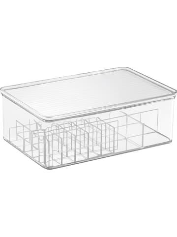 "Idesign Aufbewahrungsorganizer ""Clarity"" in Transparent - (B)27 x (H)9,5 x (T)18,5 cm"