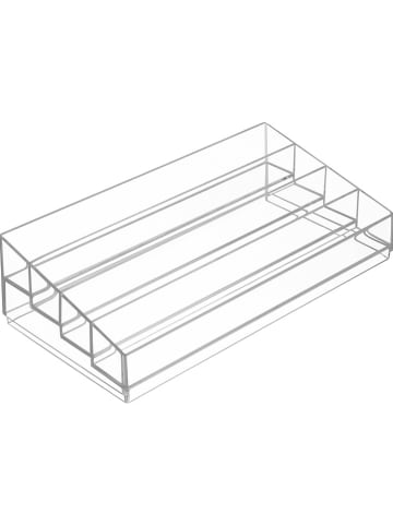 "Idesign Organizer ""Clarity"" transparant - (B)33 x (H)9 x (D)16,5 cm"