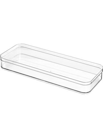 "Idesign Ladeorganizer ""Crisp"" transparant - (B)38 x (H)5 x (D)15 cm"