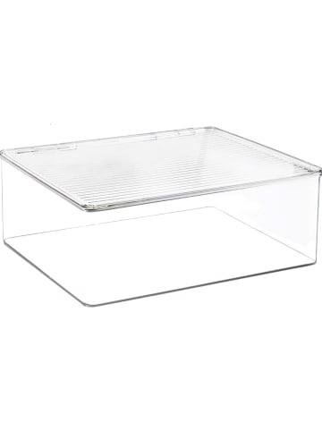 """Idesign Aufbewahrungsbox """"Kitchen Binz"""" in Transparent - (B)34 x (H)13 x (T)29 cm"""