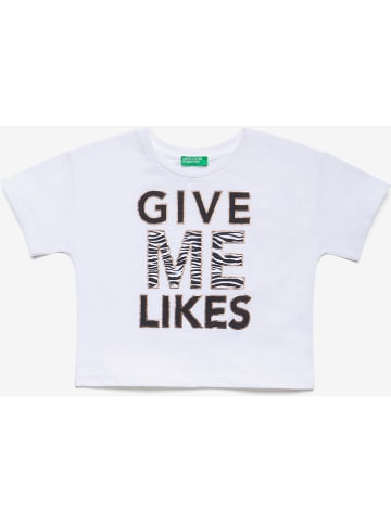 Benetton Shirt wit