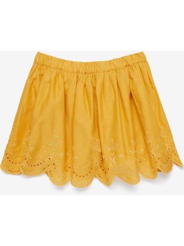 Benetton Spódnica w kolorze żółtym