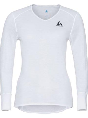 """Odlo Podkoszulek funkcyjny """"Active Warm Eco"""" w kolorze białym"""