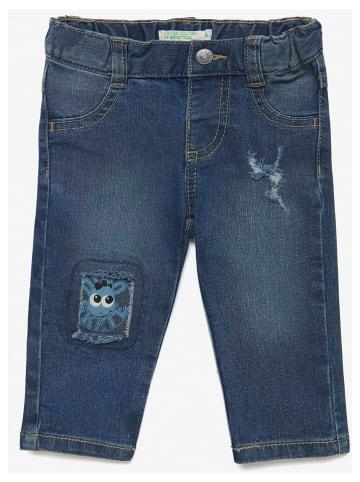 Benetton Spijkerbroek donkerblauw