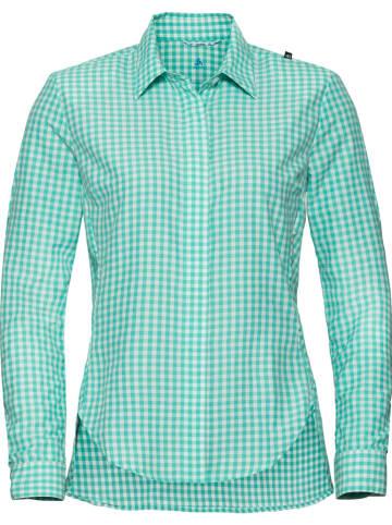 """Odlo Bluzka funkcyjna """"Meadow Lo"""" w kolorze zielonym"""