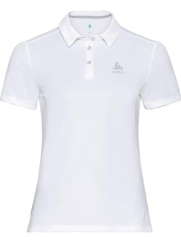"""Odlo Funkcyjna koszulka polo """"F-Dry"""" w kolorze białym"""