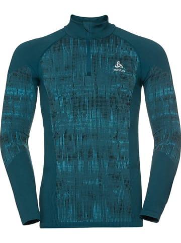 """Odlo Functioneel onderhemd """"Blackcomb"""" turquoise"""