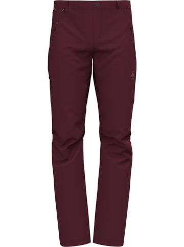 """Odlo Spodnie funkcyjne """"Wedgemount"""" w kolorze czerwonym"""