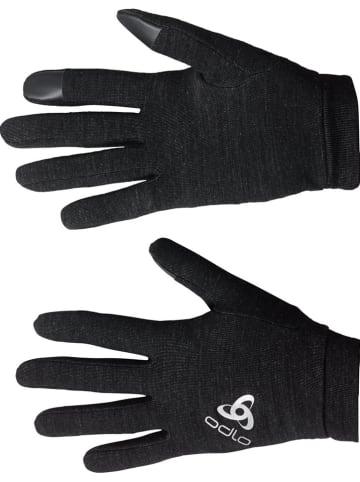"""Odlo Functionele handschoenen """"Natural + Warm"""" zwart"""