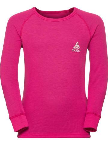 """Odlo Podkoszulek funkcyjny """"Active Warm"""" w kolorze różowym"""