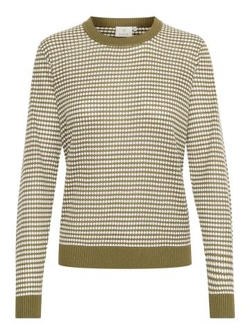 """Kaffe Sweter """"Lulu"""" w kolorze khaki"""