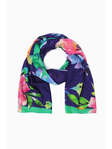 TATUUM Szal w kolorze fioletowym ze wzorem - (D)180 x (S)70 cm