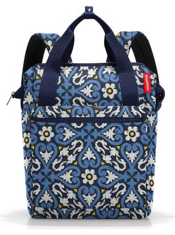 """Reisenthel Plecak """"Allrounder R"""" w kolorze niebieskim - 29,5 x 19,45 x 5 cm"""