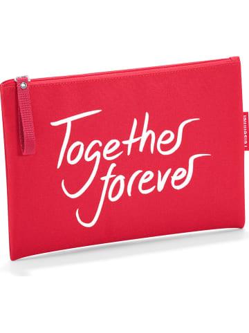"Reisenthel Etui ""together forever"" rood - (B)23 x (H)17 cm"