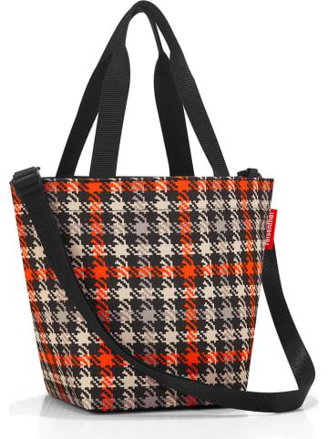 """Reisenthel Shopper bag """"XS"""" w kolorze czarno-kremowo-czerwonym - 31 x 21 x 16 cm"""