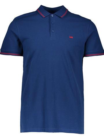 Lee Poloshirt blauw