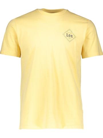 "Lee Shirt ""Square"" geel"