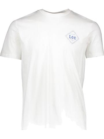 """Lee Shirt """"Square"""" crème"""