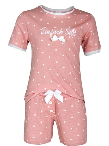 Louis & Louisa Pyjama in Rosa