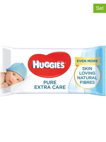 """HUGGIES-DryNites 3er-Set: Feuchttücher """"Pure Extra Care"""" - 3x 56 Stück"""