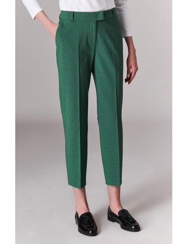 TATUUM Spodnie w kolorze zielono-czarnym