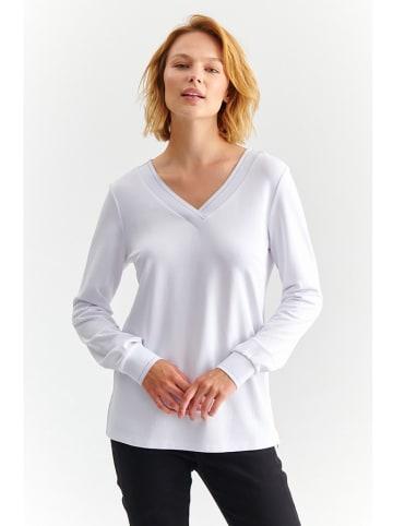 TATUUM Bluzka w kolorze białym