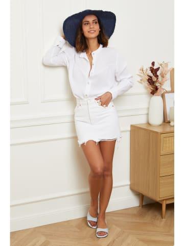 Le Monde du Lin Bluzka w kolorze białym