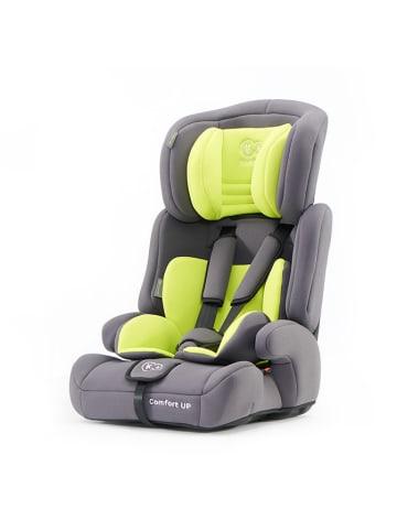 """Kinderkraft Fotelik samochodowy """"Comfort Up"""" w kolorze szaro-zielonym - grupa 1/2/3"""