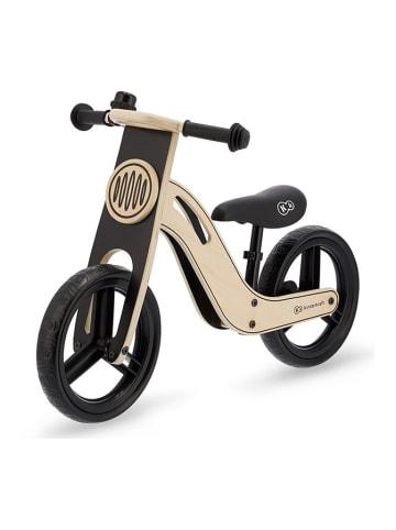 """Kinderkraft Rowerek biegowy """"Uniq"""" w kolorze czarno-beżowym - 2+"""